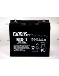 Bateria Exodus 12V 22Ah...